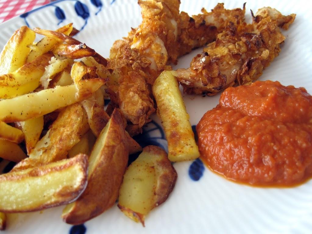hjemmelavede pommes frites